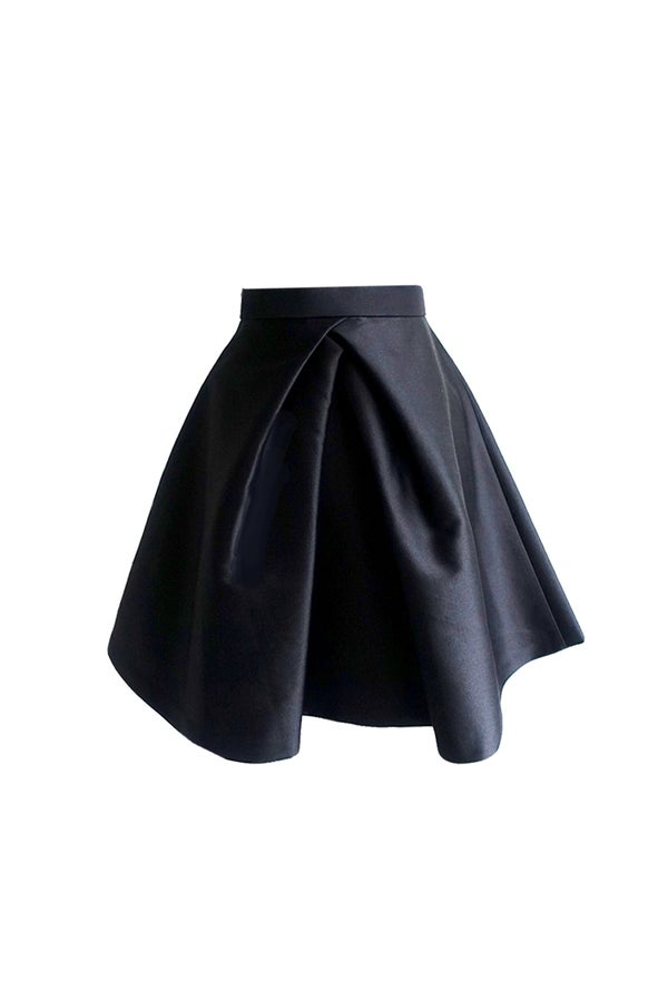 Mulberry Skirt (Black) $565 - Melissa Bui