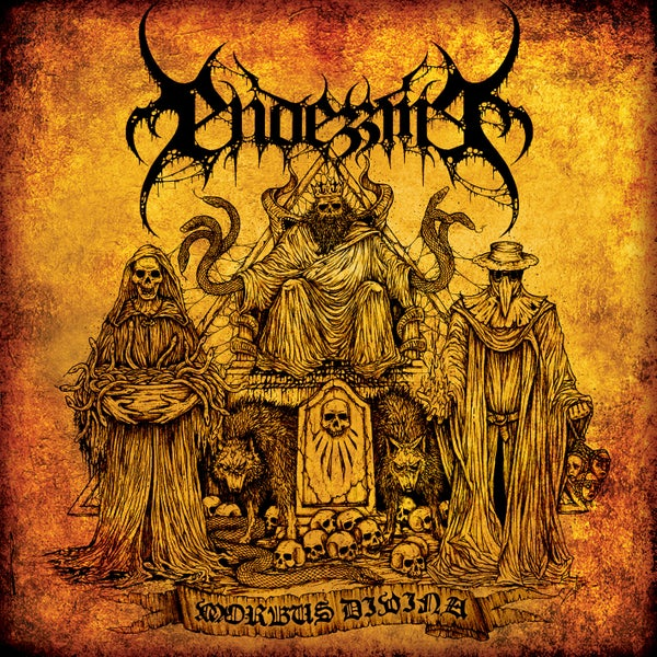 "Image of ENDEZZMA ""Morbus Divina"" 7"" EP"