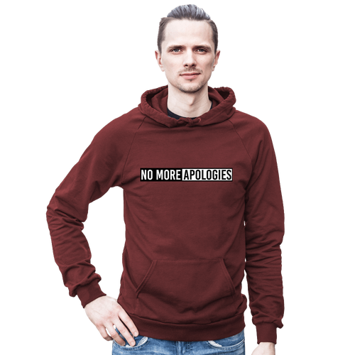"Image of No More Apologies ""Unisex"" (Pull Over Hoodie)"
