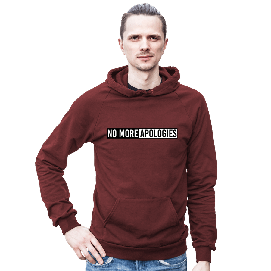 Image of No More Apologies Unisex Hoodie