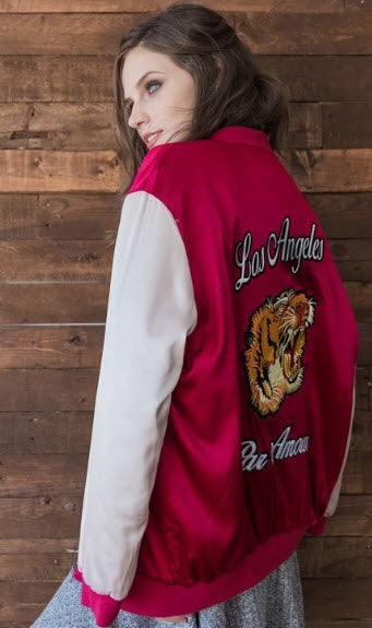 Image of LA Embroidered Bomber