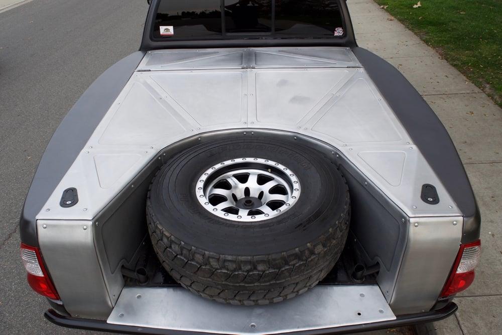 Image of Aluminum panel work