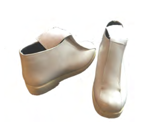 Image of Female Armor Low Heel Short Boots