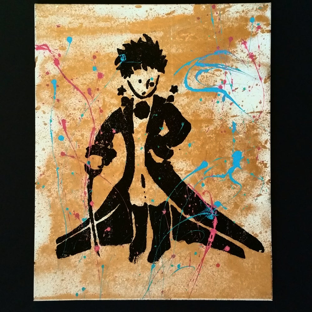 Image of LITTLE PRINCE ORIGINAL SILKSCREEN.