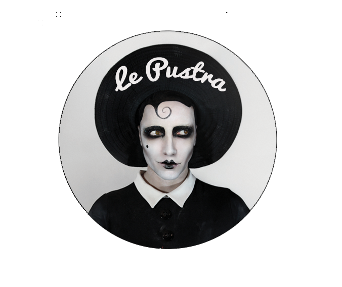 Image of Le Pustra 38mm Pin Badge