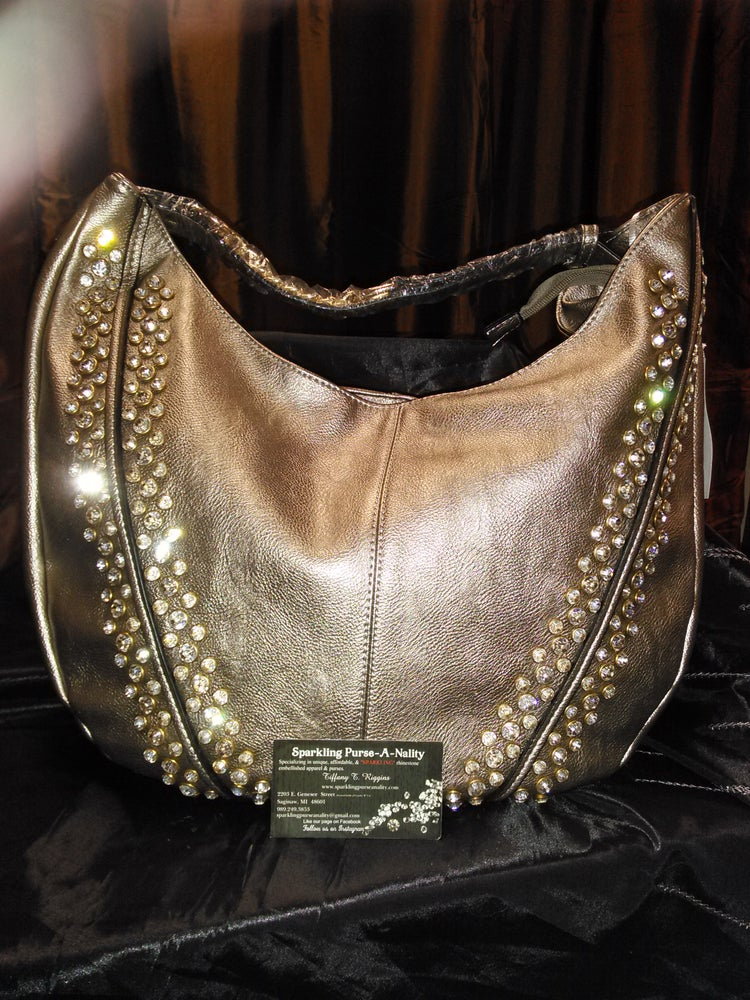"Image of ""Sparkling"" Large Hobo"