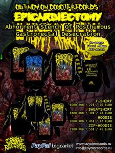 Image of EPICARDIECTOMYAbhorrent Stench  T-shirt/Sweatshirt/Hoodie/Zip-Hoodie