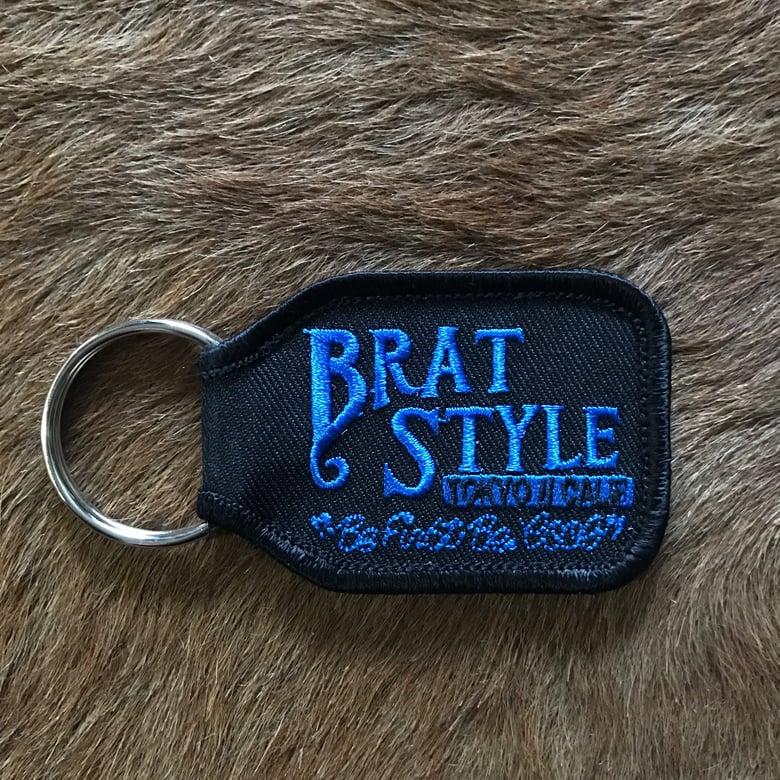 Image of BRAT STYLE KEY RING Blue