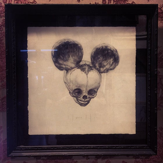 Image of 'FOETAL MOUSE' - Framed Limited Edition Museum Archival Print {18/100}