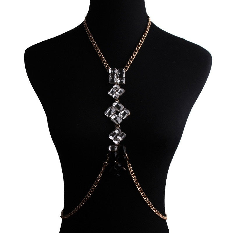 Image of Simple Body Statement Necklace