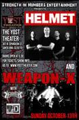Image of Weapon-X/Helmet Poster