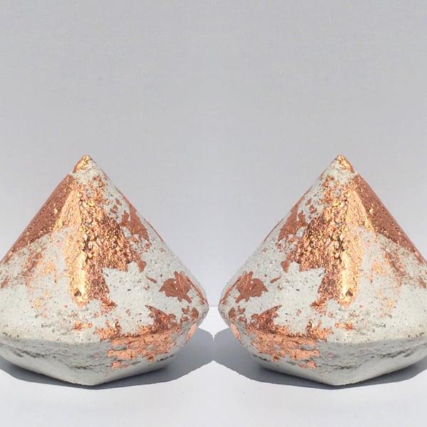 Image of Mintie Concrete  Diamonds & Rubies