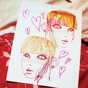 Image of Lust Postcard Print