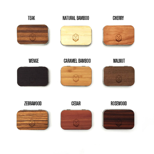 Image of TIMBER Woodskin Business Card Holder - Free Shipping United States Orders