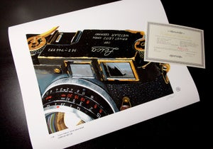 "Image of ""Leica Camera"" Limited Edition Print"