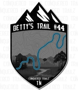 "Image of ""Betty's Trail #44"" Trail Badge"