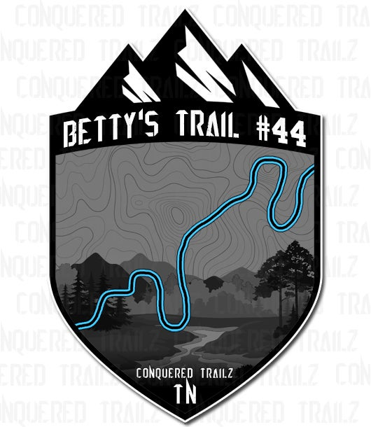 """Image of """"Betty's Trail #44"""" Trail Badge"""