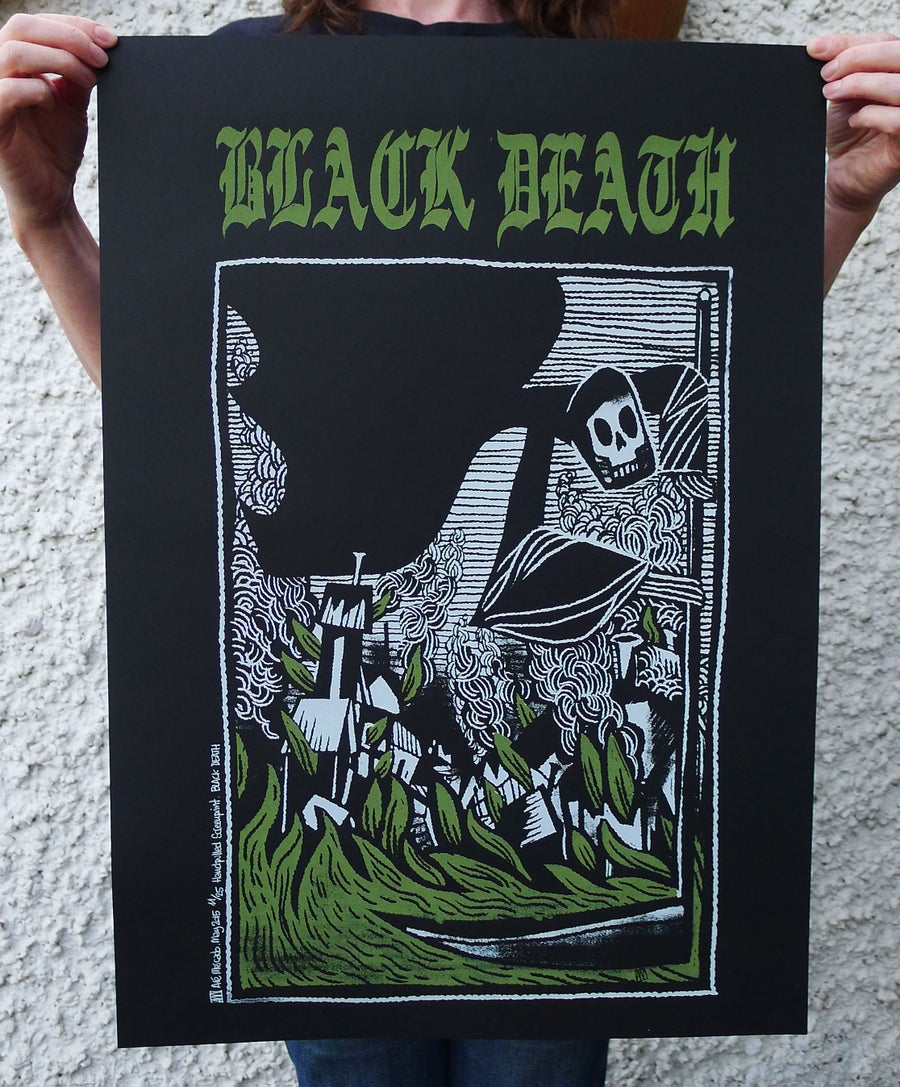 Image of Black Death Screenprint