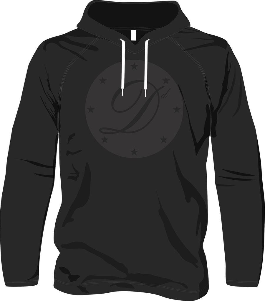 Image of Black Out DD Hoody