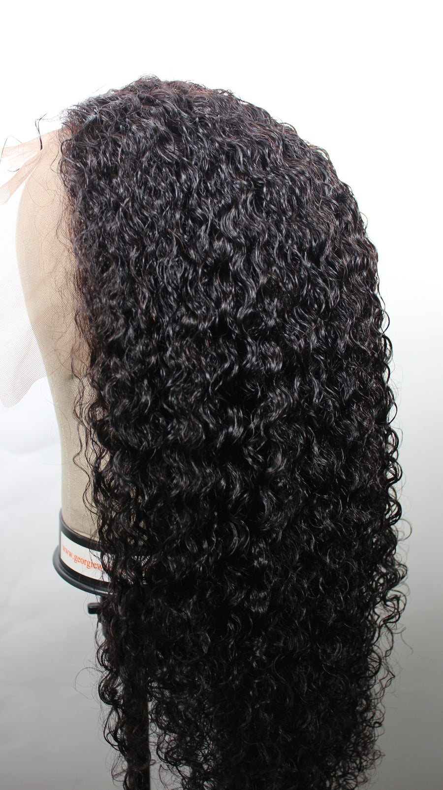 """Image of Fully Customized """"Join the Wave"""" Loose Wavy/Curly 13x6 Frontal Wig"""