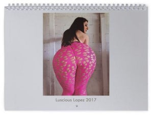 Image of Luscious Lopez 2017 Calendar