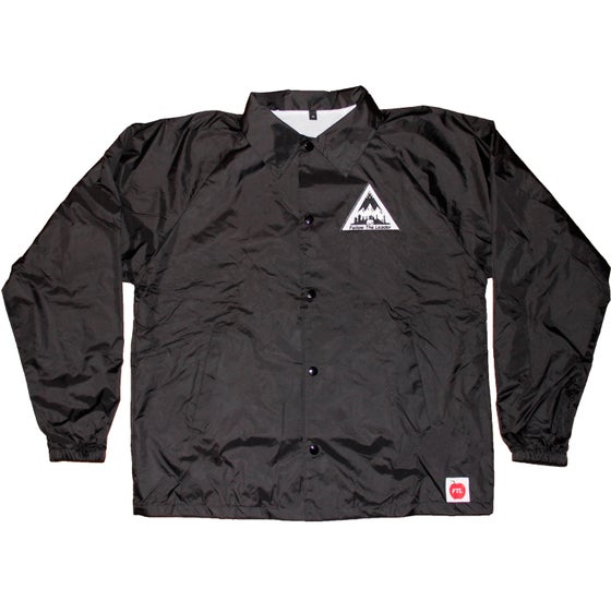 Image of NYC Scape Patch Coaches Jacket