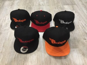 Image of BRODEQUIN /SICK MORGUE - SNAPBACKS