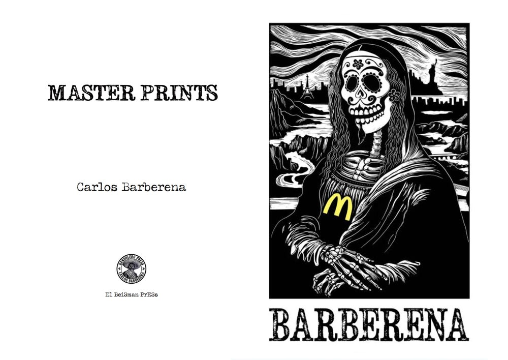 Image of BARBERENA: Master Prints Book
