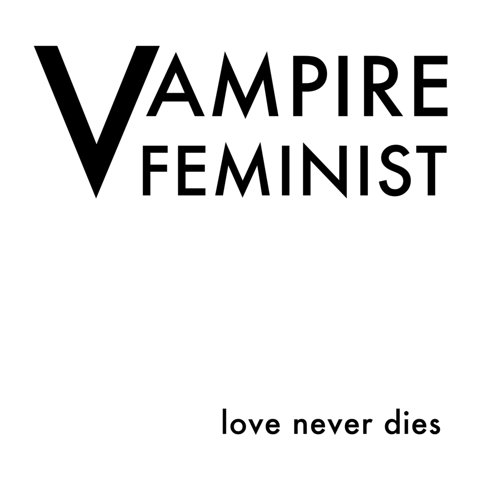 "Image of Vampire Feminist ""Love Never Dies"" Crop Top"
