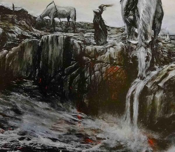 Image of 'Horses' limited artprint