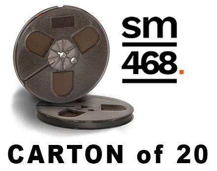 "Image of CARTON of SM468 1/4"" X1200' 7"" Plastic Reel Hinged Box"