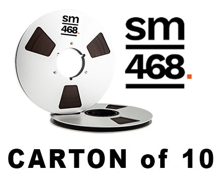 "Image of CARTON of SM468 1/4"" X2500' 10.5"" Metal Reel Hinged Box"