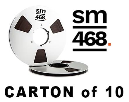 """Image of CARTON of SM468 1/4"""" X2500' 10.5"""" Metal Reel Hinged Box"""