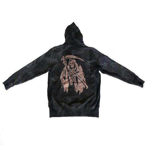 Image of SSUR - Reaper Tie Dye Hoody