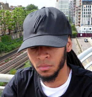 Low Profile Strapback (Black) - Moore Vigilance