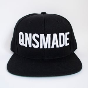 Image of Classic Snapback - White on Black