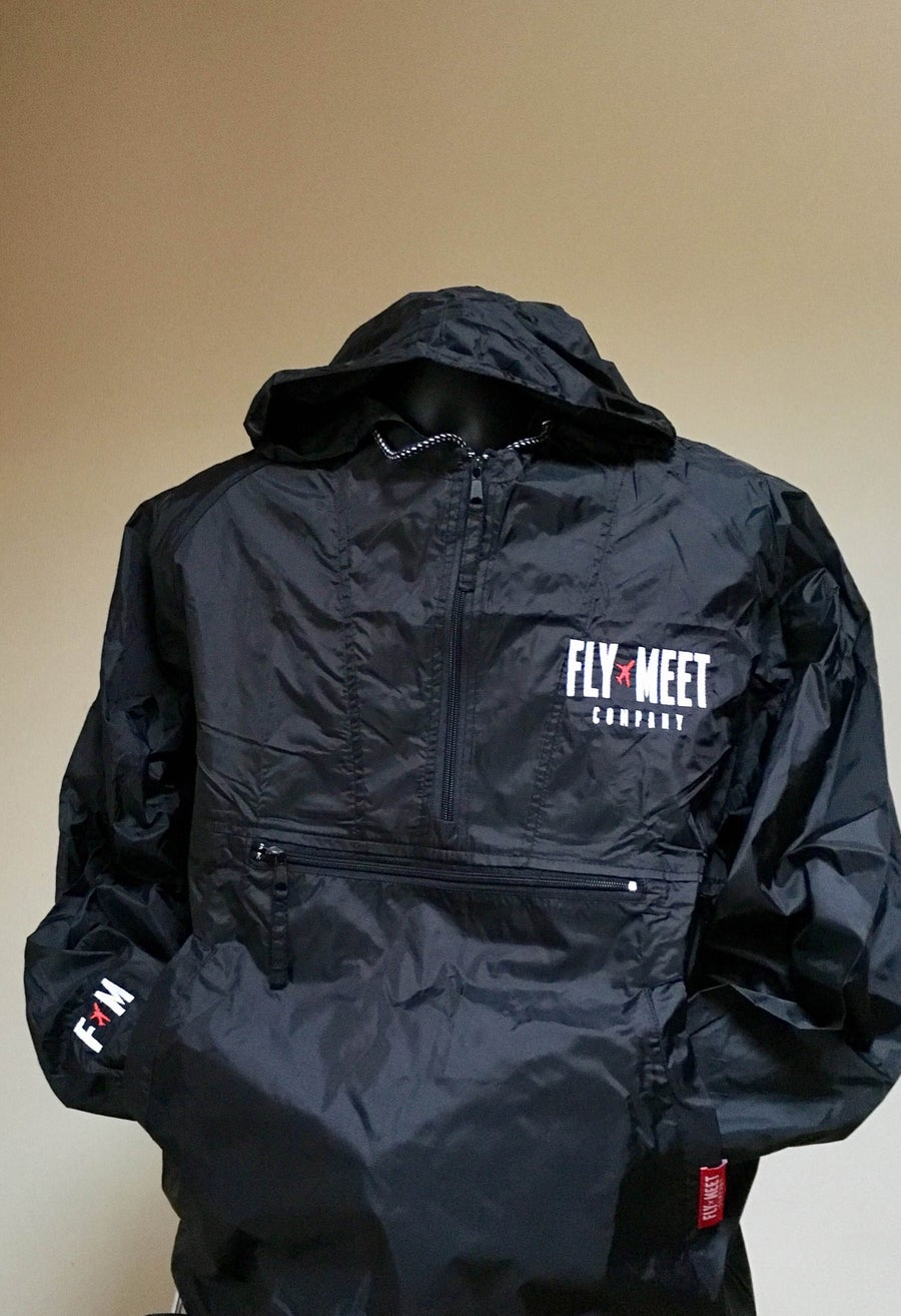Image of Fly Meet Company - Flight Jacket (Black)