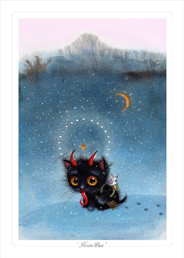 "Image of ""Kram-Puss"" Limited Edition Print"