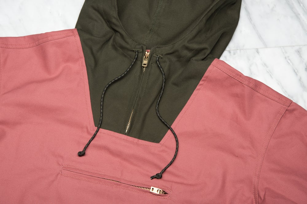 Image of AN15- ANORAK (ROSE/OLIVE) LAPSTONE & HAMMER EXCLUSIVE