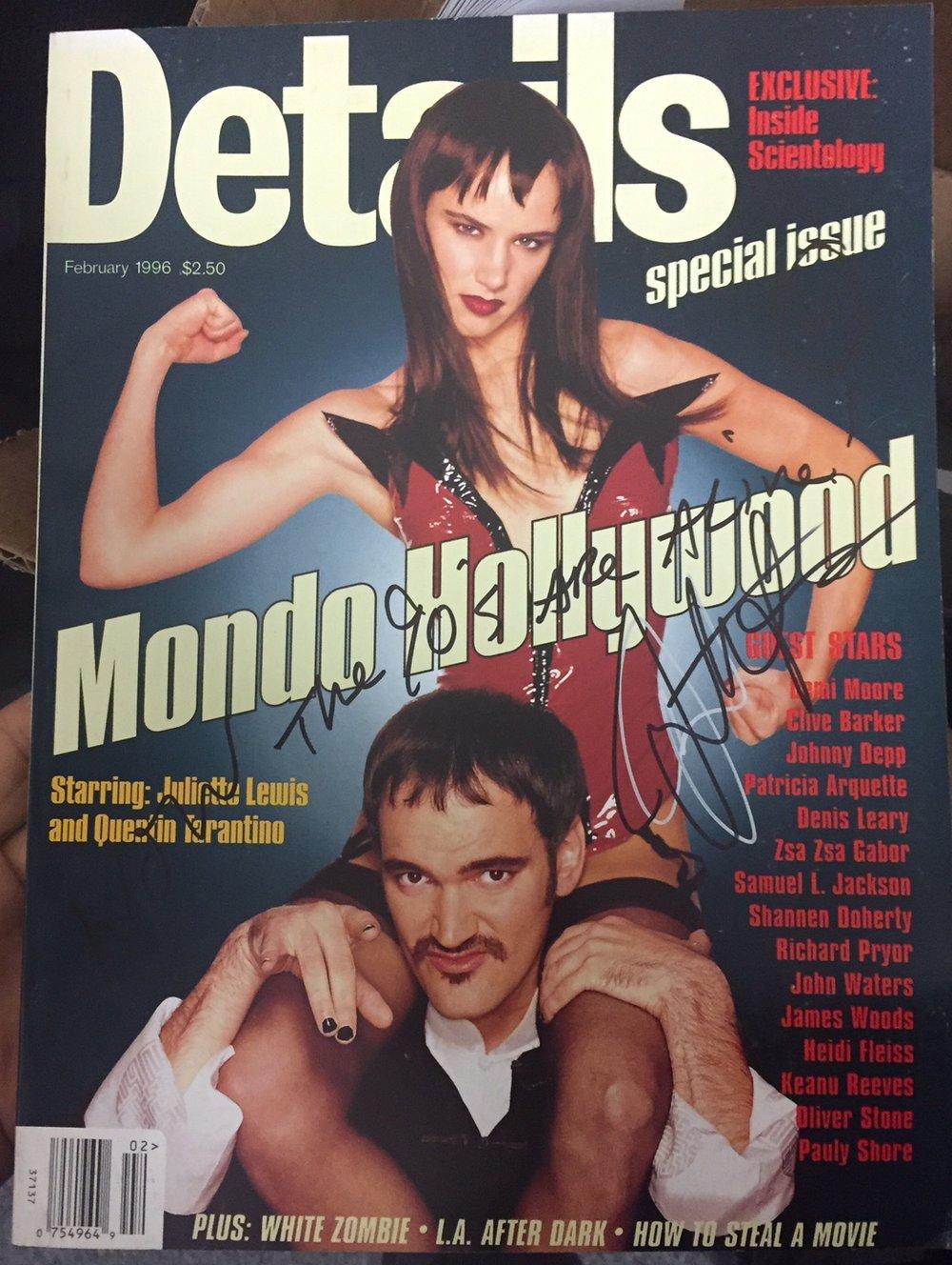 Image of *Signed Collectors Item* Original Details Mag 1996