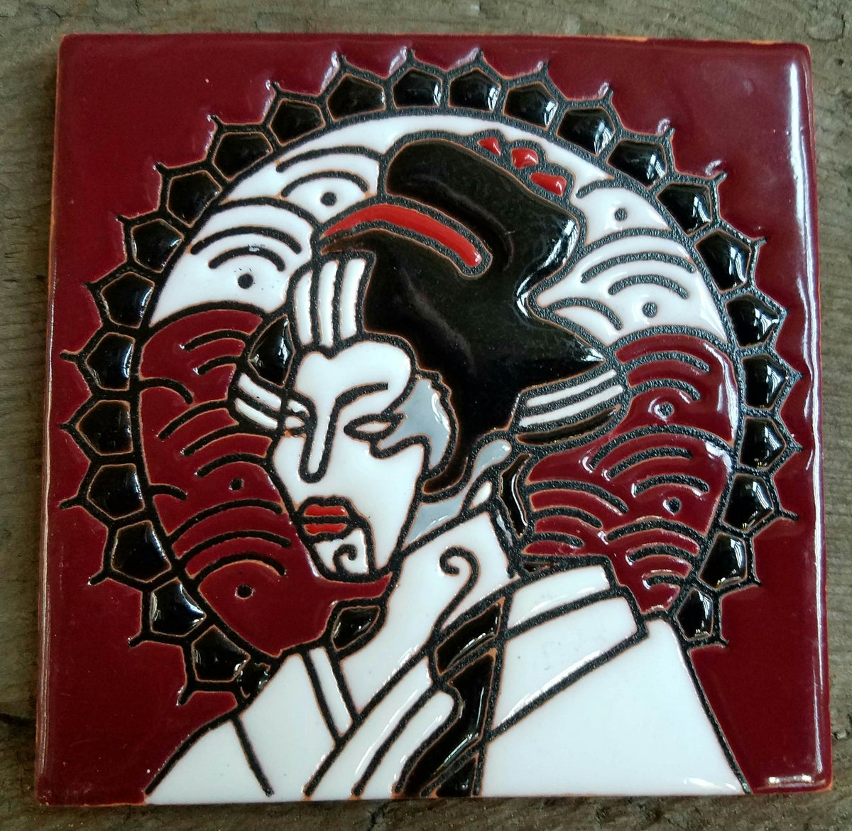 Image of Galactica Ganesha Coaster Tile