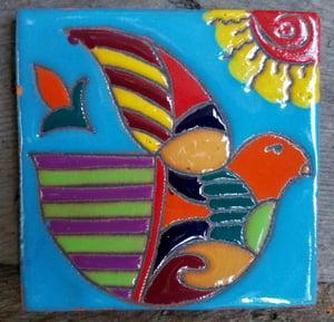 Image of Dove Coaster Tile
