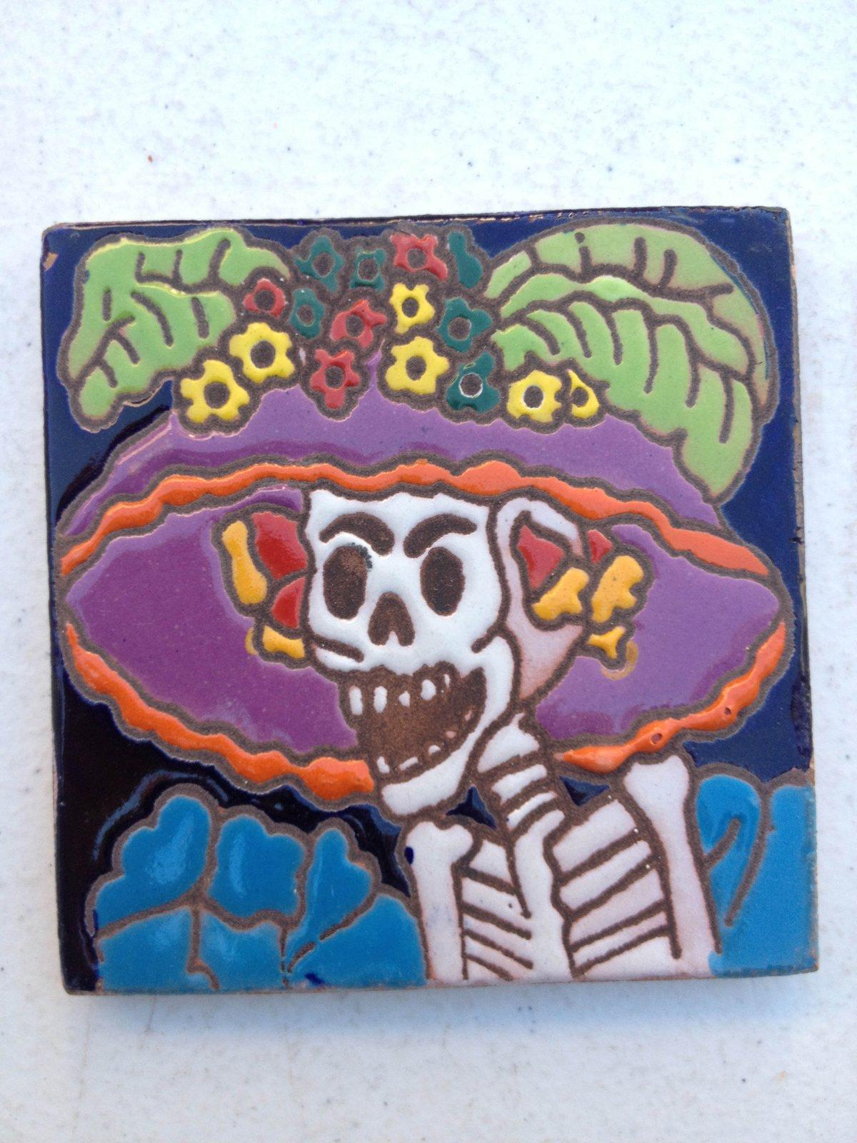 Image of Catrina Coaster Tile