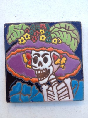 Image of Catrina Coaster Tile