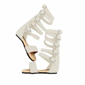 Image of Ladies Nahla Sandal - Cream
