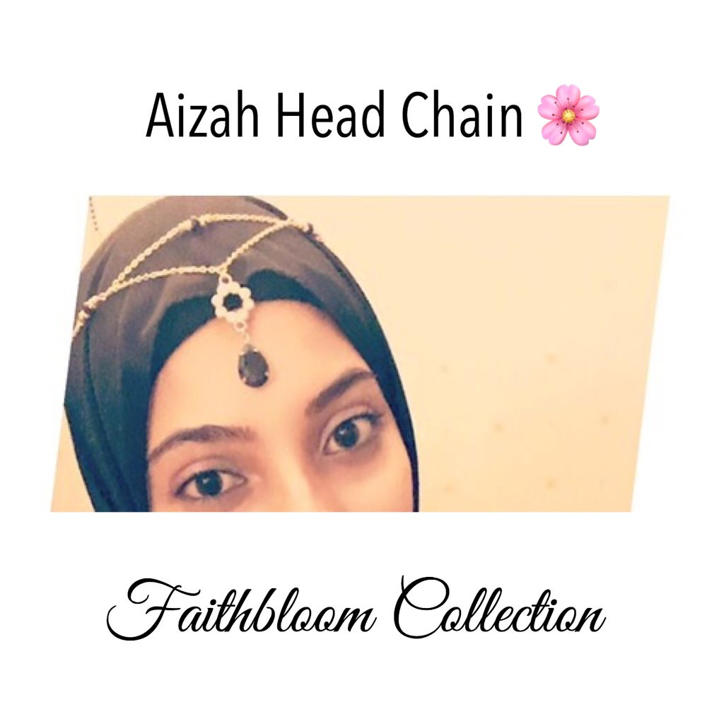 Image of Aizah Head Chains and Hand Chain set