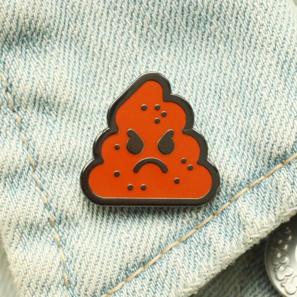 Image of Shit Head Enamel Pin