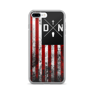 Image of Dead Name Flag iPhone Case