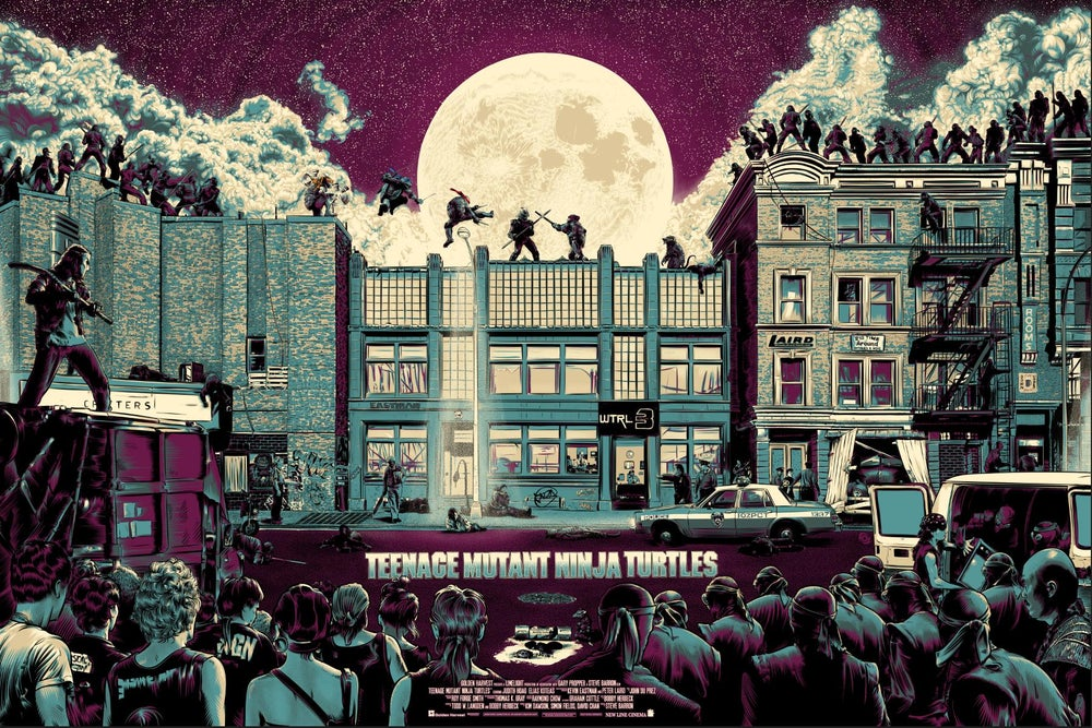 Image of TMNT by James Fosdike