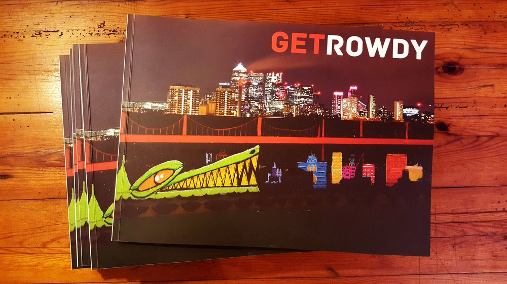 Image of Get Rowdy Book (Softback)
